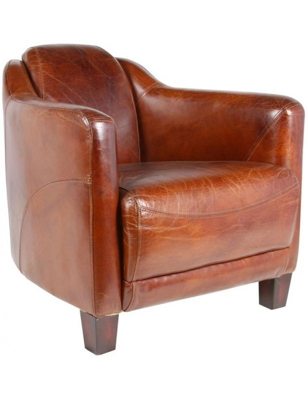 fauteuil cuir cosy grand large