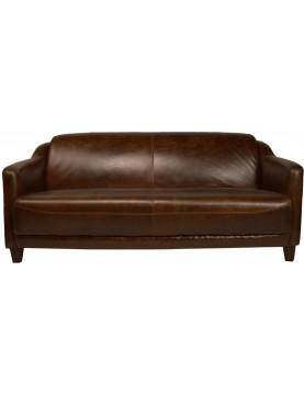 Canapé cuir long 175 grand large
