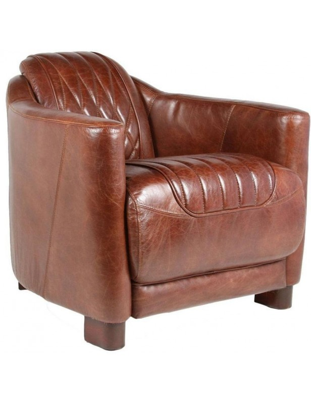 Fauteuil Cuir Luxe